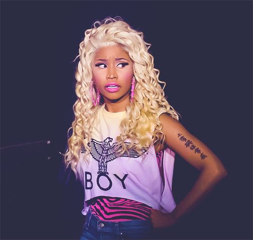 Niki Manaj you are so pretty