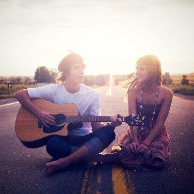 I believe God will find someone to sit in the middle of an open road with me.