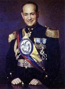 Presidente - General Gustavo Rojas Pinilla