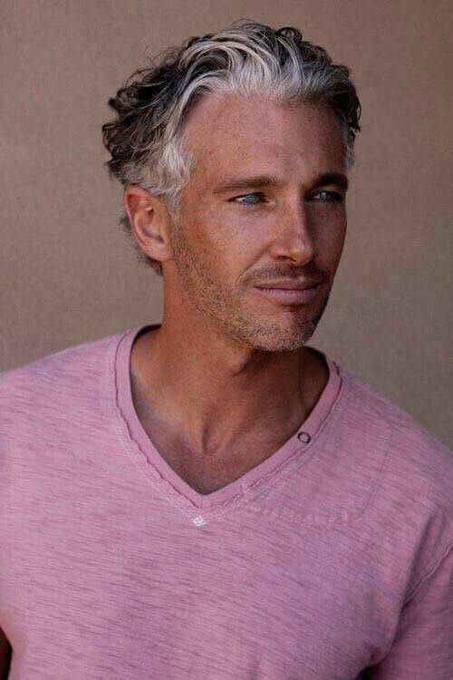 Older Men's Hairstyle, via Jo's Style's page on Facebook