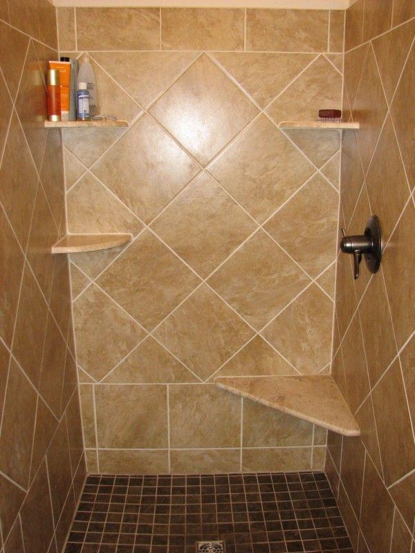 44 best Shower Tile Design images on Pinterest   Bathroom ideas ...