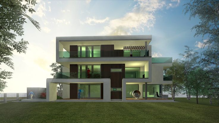 Madárhegy - Zsázsa project designed by 4D Architects modern minimal residential architecture