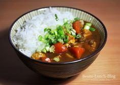 Kare-Raisu - vegetarisch, japanischer Curry-Reis