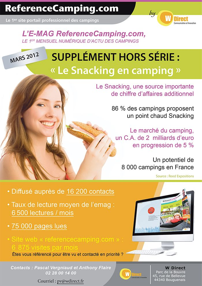 Emailing Référence Camping