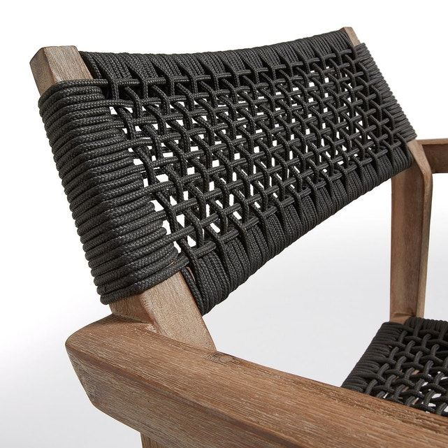 Chaise Vetter Woven Chair Diy Outdoor Furniture Woven Dining Chairs