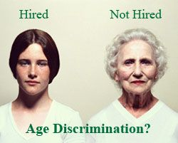The Age Discrimination Act in employment act of 1967 protects individuals who are 40 or older from employment discrimination based on age. The ADEA make is unlawful to include age preferences, limitations, or specifications in job notices. As pictured, the younger gentleman got hired over the older women. This could have been age discrimination on part of the company. Companies may not prefer an older employee to hired based on capability to do the job, insurance and other variables.