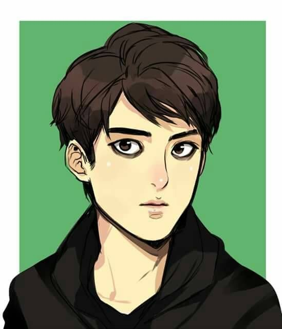 Juna with cut hair | 304th Study Room | ikemen | webtoon