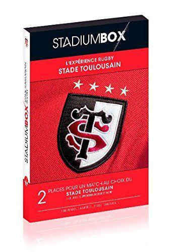 StadiumBox Stade Toulousain Red Edition: La StadiumBox est le seul moyen d'offrir des places du Stade Toulousain sans vous tromper Le…