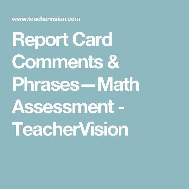Pinterestu0027teki 25u0027den fazla en iyi Report card comments fikri - report card