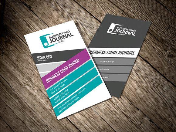 Download: http://businesscardjournal.com/stylish-creative-vertical-business-card-template/