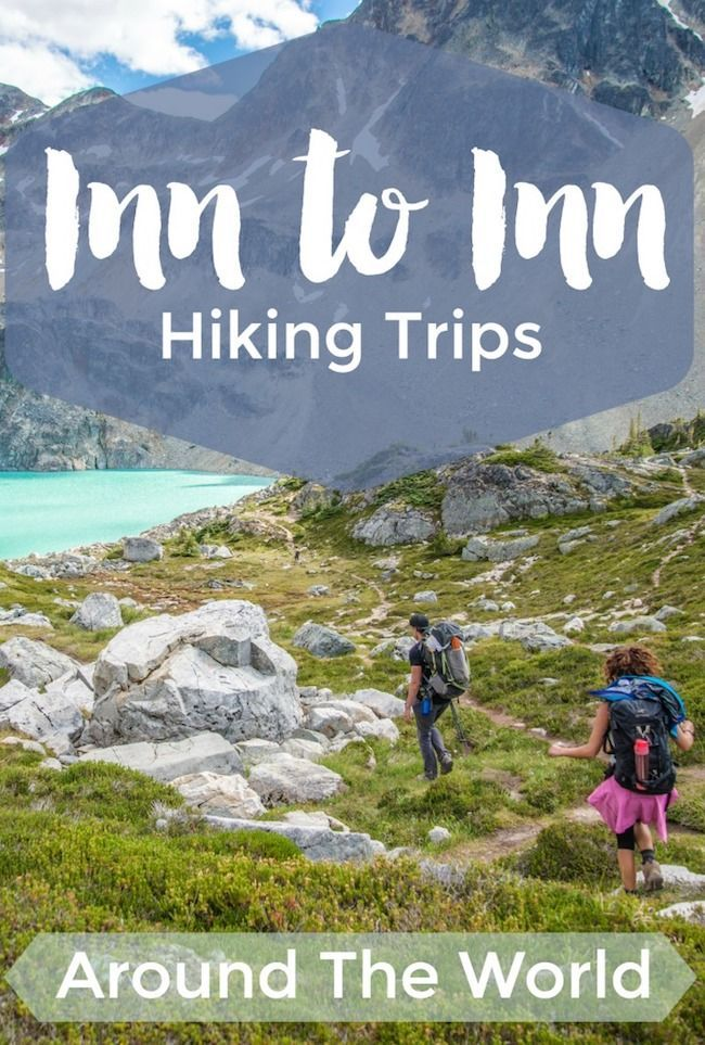 Inn to inn (or hut to hut) walking and hiking tours can be a winning trip option for travelers that love slow travel and active vacations.