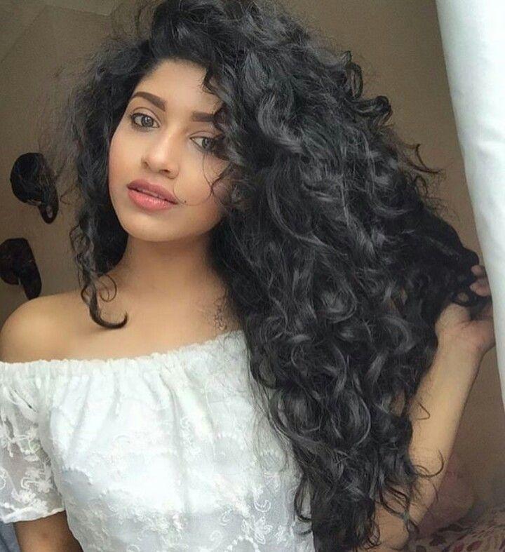 dark curly hair ideas