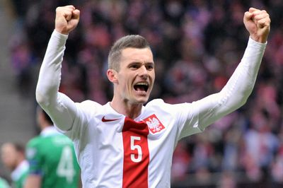 Krzysztof Maczynski at the UEFA Euro 2016 Qualifying (Poland vs Ireland) Copyright B&O Press Photo.