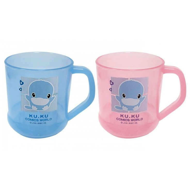 #KU_KU_Duckbill_Mug   Brand: #Kuku   Short description:  Kuku Duckbill drinking mug suitable for kids 18 M+ Long description:  Give your child the chance to feel like adults by drinking from their own mug just as mum and dad do  #hedeya #hedeyastores #toys #gifts code:3781  Price:17