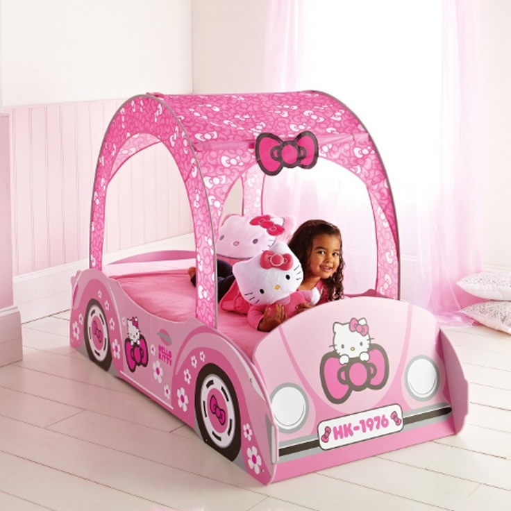 16 best chambre enfant hello kitty images on pinterest. Black Bedroom Furniture Sets. Home Design Ideas