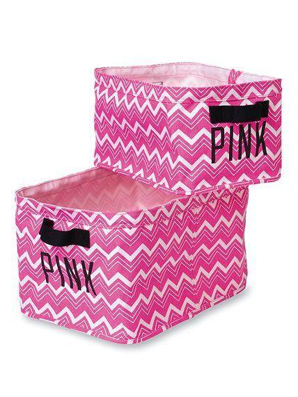 25 Best Ideas About Pink Storage Bins On Pinterest