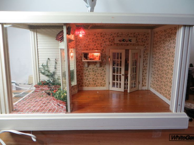 Details About Dollhouse Miniature Artisan Sitting Room And