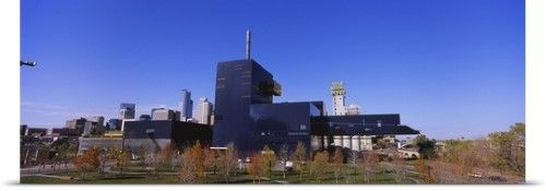 Poster Print Wall Art Print entitled Theater in a city, Guthrie Theater, Minneapolis, Hennepin County, Minnesota, None