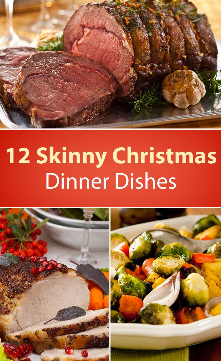 12 Skinny Christmas Dinner Dishes – The Dish by KitchMe