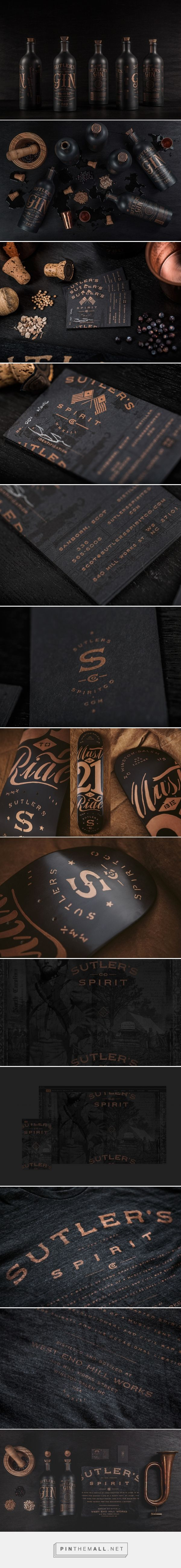Sutler's Spirit Co. Branding and Packaging by Device Creative Collaborative | Fivestar Branding Agency – Design and Branding Agency & Curated Inspiration Gallery