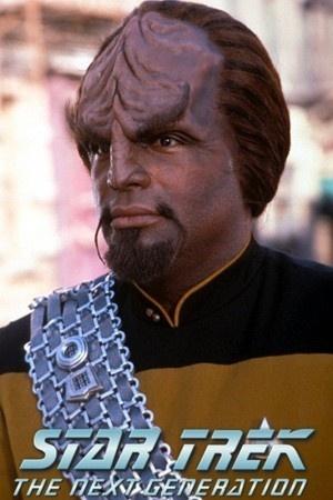 Star Trek : TNG ... Worf, the one Klingon that never terrified me.