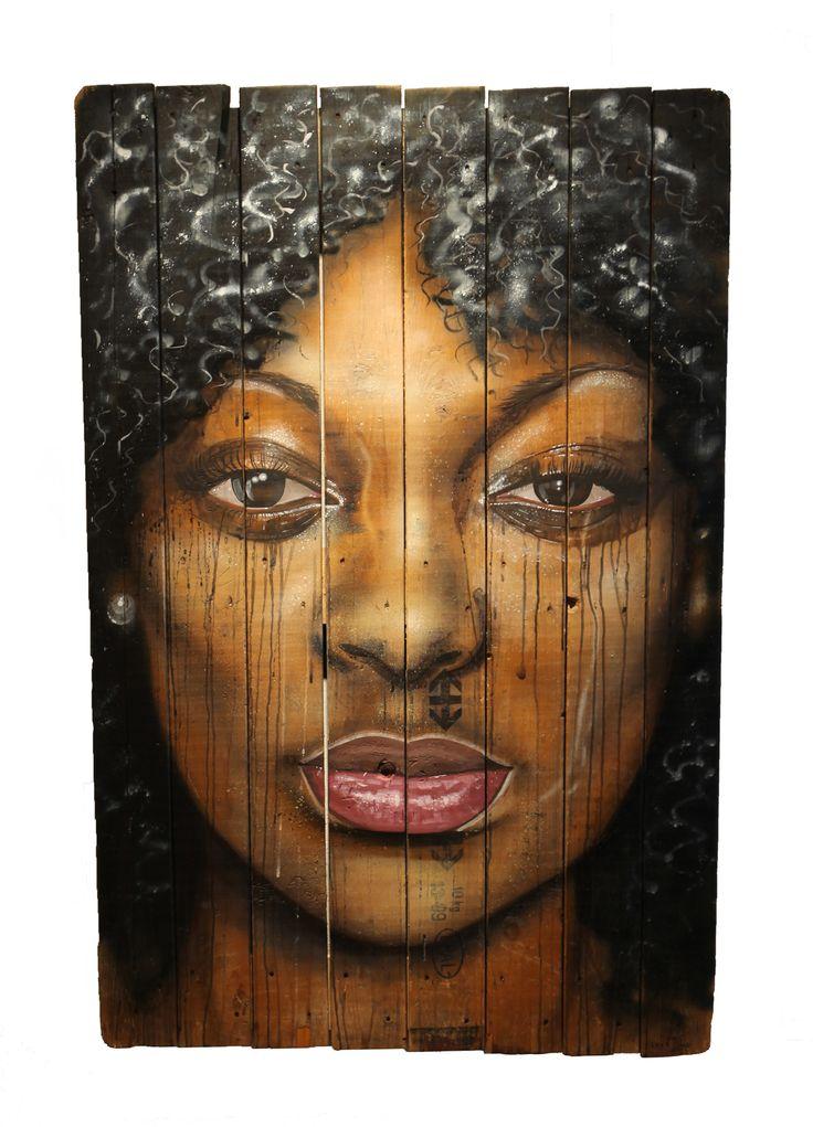 L'indécise - Leza One - Urban Muses - @ Evartspace Gallery