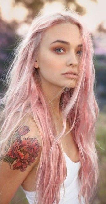Soft Pink Pastel Hair