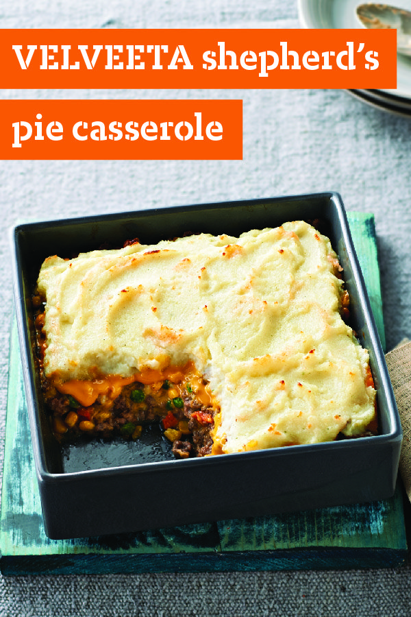 Pie Casserole – Buttery mashed potatoes, skillet-browned ground beef ...