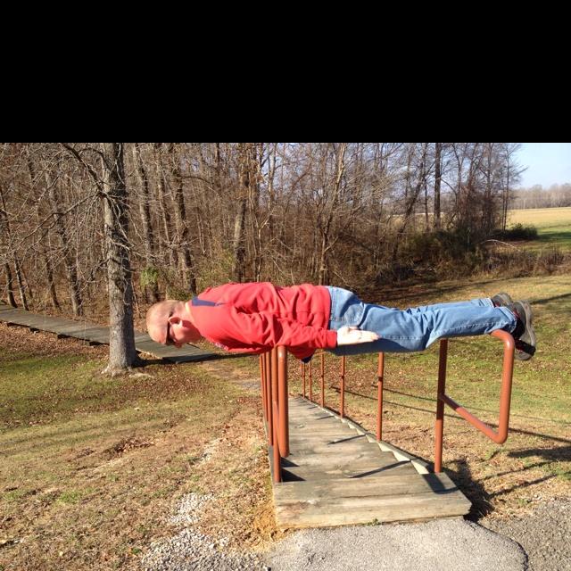 Planking on the Natchez Trace: Natchez Tracing