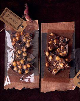 Christmas chocolate recipe - Weihnachts-Schokolade - Selbstgemacht: Geschenke aus der Küche - [LIVING AT HOME]