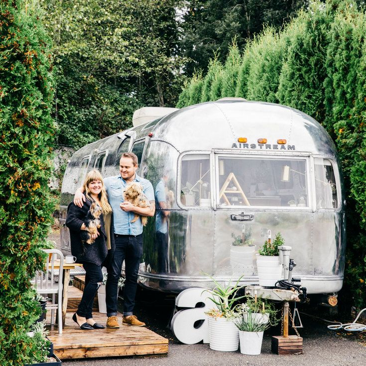 How to Live in a Vintage Airstream - Sunset
