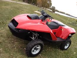 Get ready for summer time just thought I would share the cool ATVs they go in the water they're called a quad ski