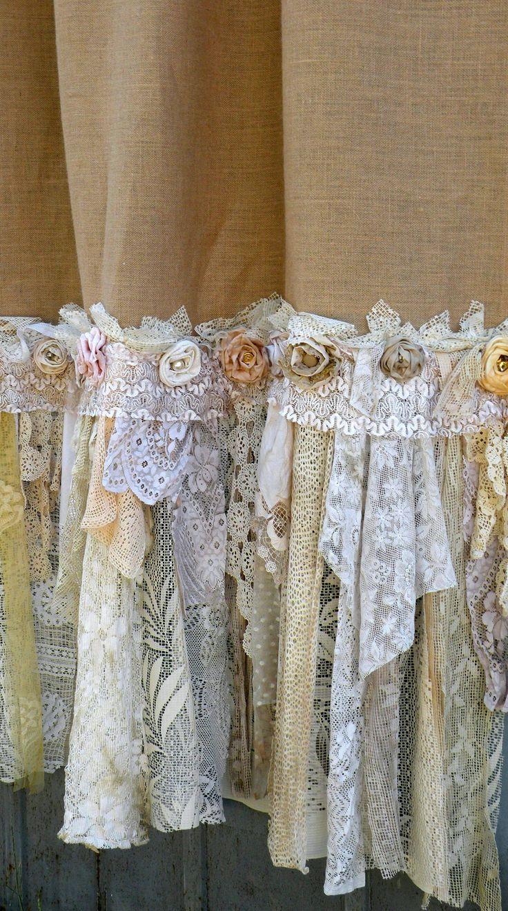 Boho Lace Curtains