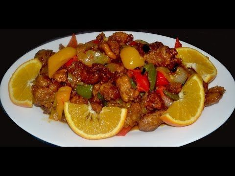 Pollo a la naranja - Comida China. Orange Chicken - YouTube