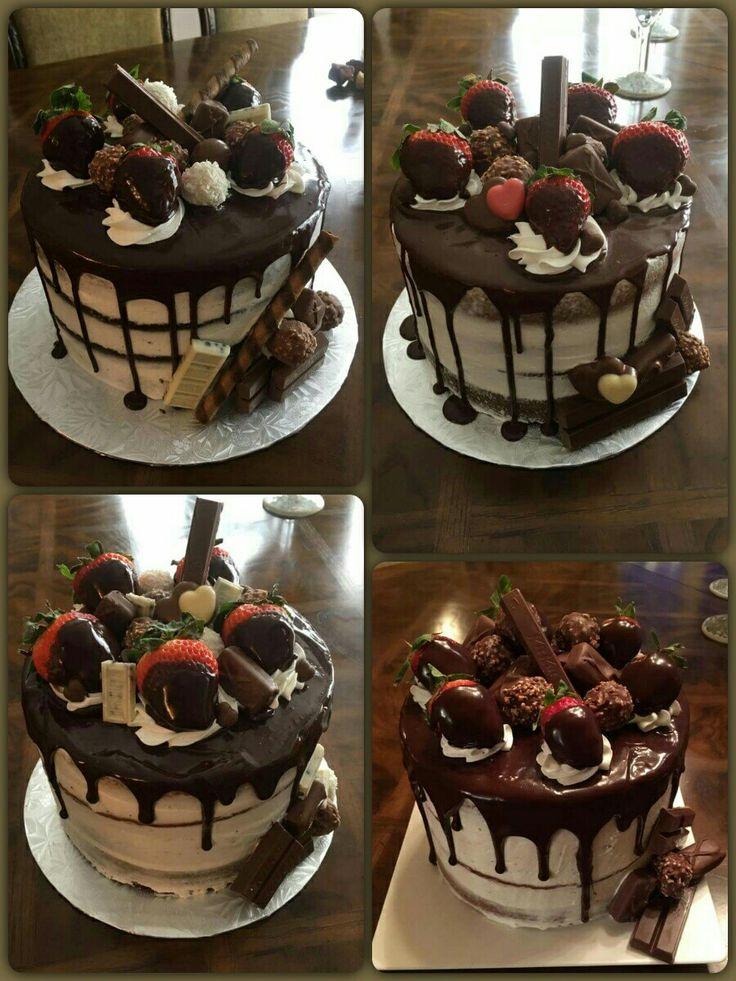 Naked Cake aux chocolats