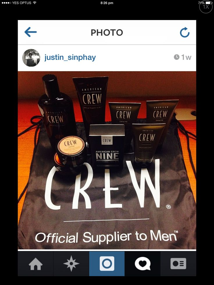 American Crew quality mens hair products