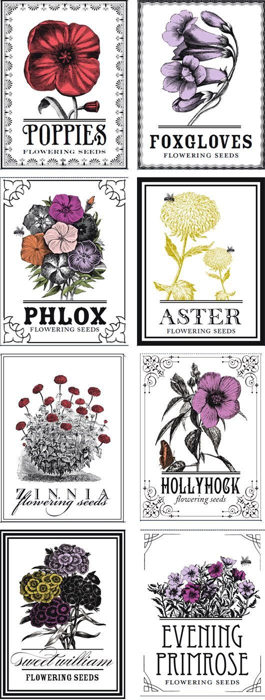 Imprimolandia: Sellos de flores