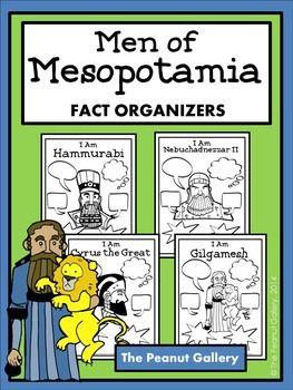 Men of Mesopotamia (Fact Organizers)