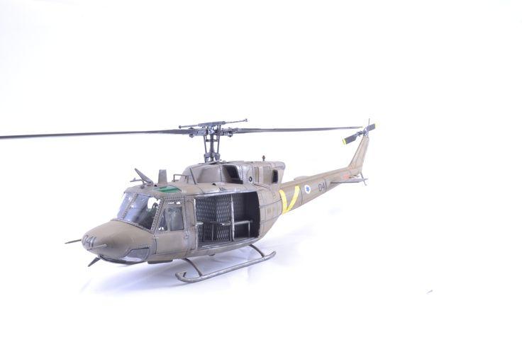 Joe McCaslin's excellent IDF chopper  Huey