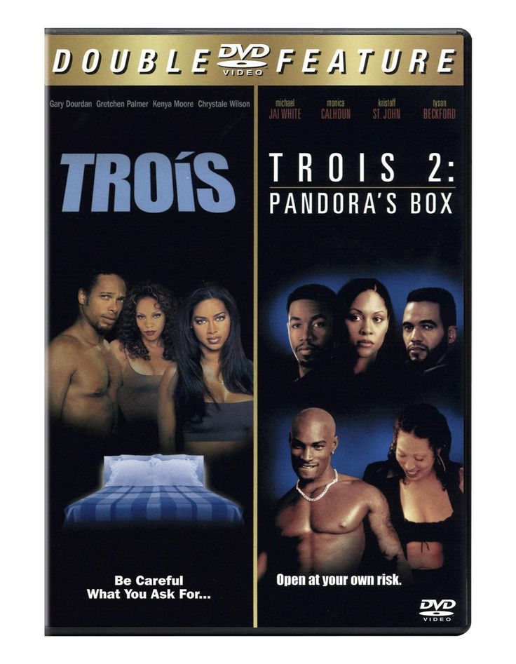 Trois starts out like some late-night soft porn on cable, but ends up as a Fatal Attraction-style thriller with some surprising plot twists and an African American cast. An attractive young couple, Jermaine and Jasmine (Gary Dourdan and Kenya Moore), move to Atlanta, where their relationship starts to hit some sexual doldrums.