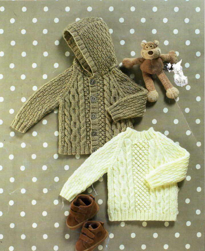 188 Best Vintage Baby Children Aran Knitting Patterns Knit