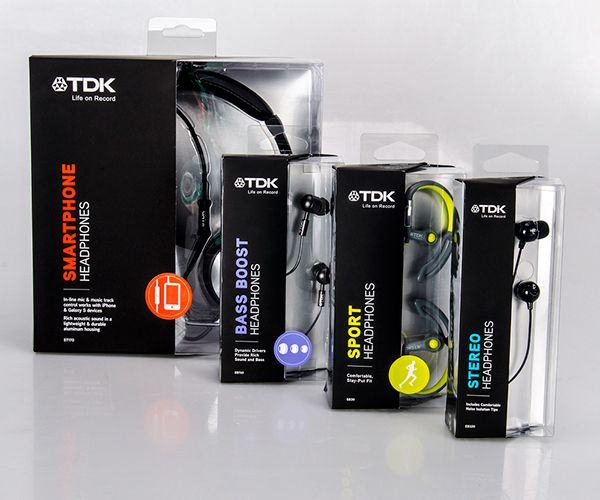 Different types of Headset packaging