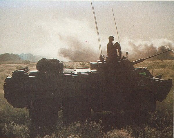 South African Infantry Corps: Ratel-20 Infantry Fighting Vehicle