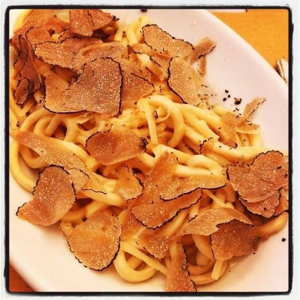 Direttamente dalla #Toscana: Pici al #tartufo