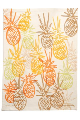 "This tea towel is great for adding a little art to your kitchen. Fling it over your cupboard door, pull it over your tea towel hook, or frame it and hang it on the wall as art!     It washed extremely well and dries dishes in a heartbeat! Over 7 styles to choose from at the Shop at AGH    55% Linen - 45% Cotton  16"" x 22"""