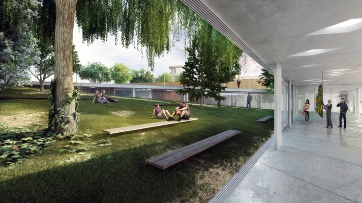 Competition CC by SIMPRAXIS architects | MORFO visualisations