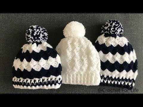 Pălărie Ușoară Pentru Croșetat Pălărie Croșetată De Patru Dimensiuni Youtube Crochet Baby Hat Patterns Easy Crochet Baby Hat Crochet Hats
