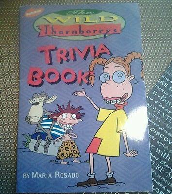 Wild-thornberrys-trivia-book-volume-1-Nickelodeon-nigel-scholastic