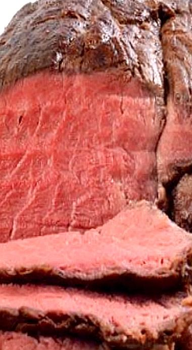 Rare Roast Beef Tenderloin - how to flavor and roast it perfectly every time ❊