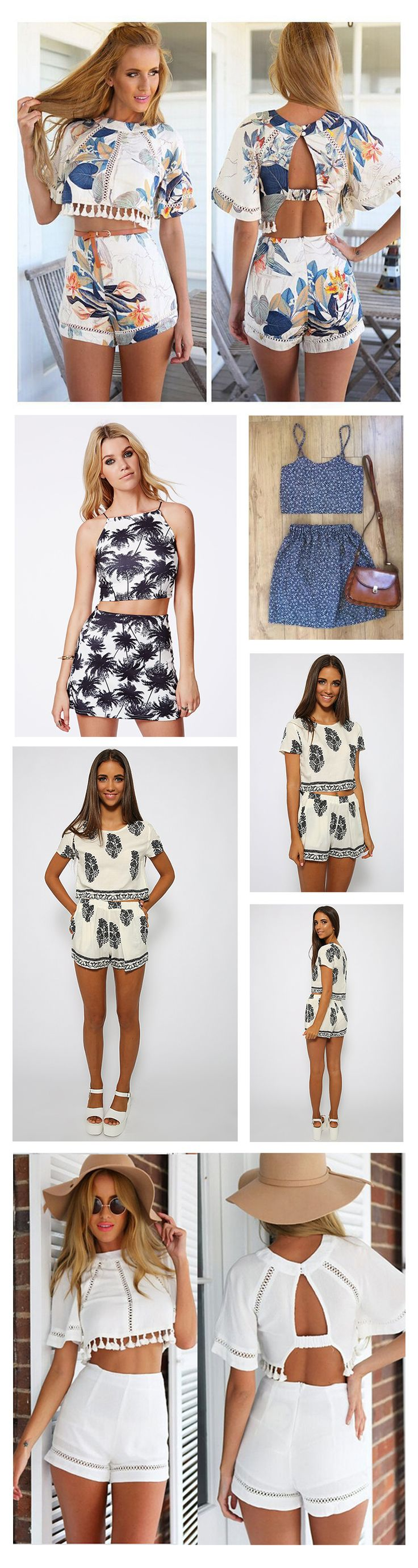 Hot Fashion Trends for Women, Two Piece Outfits!